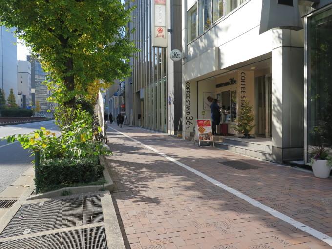 東京のど真ん中の銀座だが、ここに夢の一億円が落ちているとは誰も思わないだろう