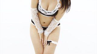 「あなたの妹」水沢柚乃ちゃんがセクシーメイド水着で握手会! あどけなさのなかにもオトナの表情を見せファンを魅了