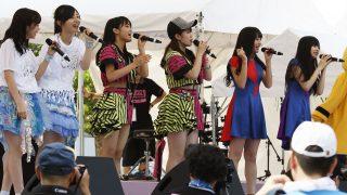 世界一のアイドルフェス・TOKYO IDOL FESTIVAL2018が指原莉乃の開会宣言で幕開け! トップバッターはももいろクローバーZの佐々木彩夏が登場!