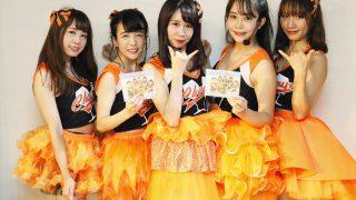 日本を元気にするチアガールアイドル・Cheer up BabyがCDメジャーデビュー! 発売イベントでは爽やかで健康的な笑顔とダンスを披露!