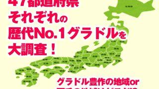 甲子園の優勝校や横綱の出身地の話題のノリで、47都道府県それぞれの歴代No.1グラドルを大調査! グラドル潤沢、グラドル不毛の地域はそれぞれどこだ!?