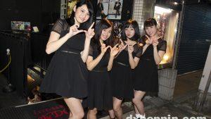 グラビアアイドル・西永彩奈、木村あやね、高田あおい、島田 夏妃が所属するアイドルユニットWe-Z-uのライブに潜入!!